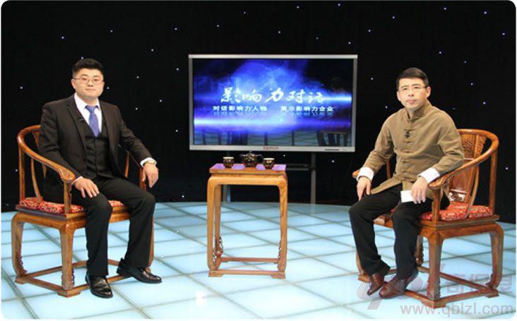 奇保良总经理刘权座客CCTV《影响力对话》栏目组,交流空调行业现状及未来